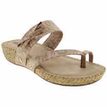 Sandália Rasteira Via Marte 14-13976 - Maico Shoes Calçados