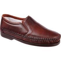 Sapato De Bico Quadrado Social Antistress Confortavel