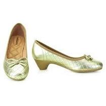 Sapato C/saltinho Sapatilha Molequinha Nova N. 32
