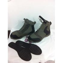 Bota Navy Seal Otb Boots Cor Cinza E Preta Tamanho Usa 11