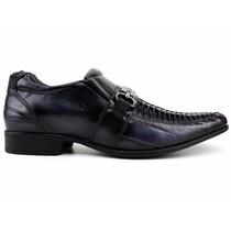 Sapato Social Masculino Couro Preto Rafarillo 100% Original