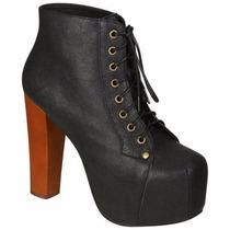 Lita Boots Pronta Entrega Sapato Importado Bota Feminina