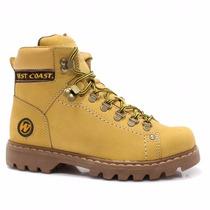Bota Coturno West Coast Worker 5790 Camel Tam 37 A 44