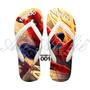 Sandálias Chinelos Havaianas Personalizadas Homem Aranha
