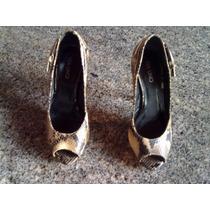Sapato De Salto Alto Feminino Via Uno
