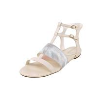 Enzo Angiolini Nyri Falso Vestido De Couro Sandálias Shoes