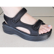 Sandalia Azaleia Papete Velcro Anatomica Confort-320323