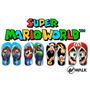 Chinelos Mario Bros - Super Mario - Mario - Luigi