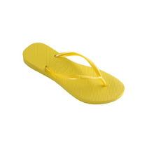 Sandalias Havaianas Slim Amarelo Feminino
