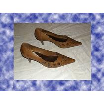 Sapato Feminino Via Uno Tam 34 Luxo 2015 Novo Nunca Usado.