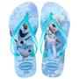 Chinelo Havaianas Infantil Frozen Ice Cristal - Tam 27-36