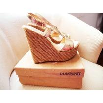 Sandália Dumond Metalizada