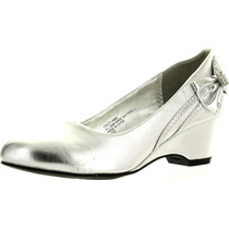 Little Angel Hailey-488e Prata Sandals