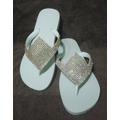 Chinelos Havaianas Sandálias Personalizadas Com Manta Strass