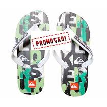 Chinelo, Sandalia, Sandálias Quiksilver Verde - Promoção !!!