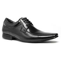Sapato Masculino Social Solado Couro Legitimo Bico Fino Luxo