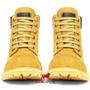 Coturno Couro Stilo Americano Militar Yellow Boot Adventure