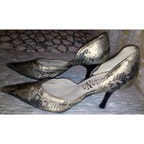 Sapato Feminino Marca Luciana Gimenez Tam.37 Salto 10 Cm S9
