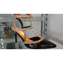 Sapato Scarpin Valentino Preto