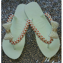 Chinelos Havaianas Top Bordado...