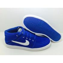 Bota Nike Soketo Mid Leather Couro Nobook Frete Gratis