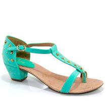 Sandália Salto Baixo Bella 2986 - Olfer Calçados