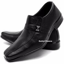 Sapato Social Masculino Barato Couro Vários Modelos R$ 49,89