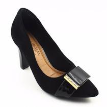 Sapato Scarpin Feminino Preto Ramarim 2016 Lançamento 583068