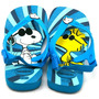Chinelo Havaianas Infantil Baby Snoopy Turquesa