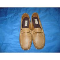 105 X - Mocassim Marrom Claro Nº40 Feminino Gyncana Shoes