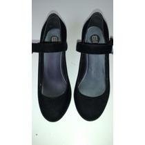 Sapato Melissa Preto Camurça 36 - Novissimo