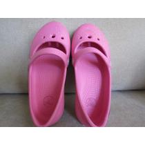 Sapato Menina Crocs Importado Tamanho 9 Bom Estado