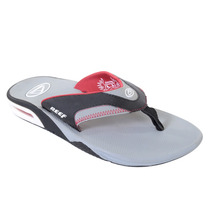 Chinelo Masculino Reef Mick Fanning Grey Red