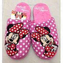 Promoção! Pantufa Chinelo Feminina Minnie Mouse Disney