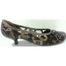 Sapato Feminino Salto Baixo Retro Tanara
