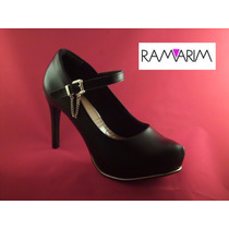Scarpin Ramarim Ref.1540103 - Preto