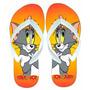 Chinelo Sandália Desenho Animado Tom & Jerry