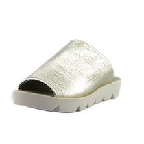 Charles David Carmen Couro Womens Slides Sandálias Sapatos