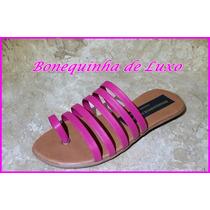 Rasteirinha Gladiadora Infantil Pink - Frete Grátis Brasil