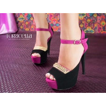 Sapato Salto Alto Peep Toe Importado Exclusivo Frete Gratis