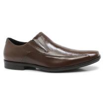 Sapato Social Masculino Ferracini Couro Marrom | Zariff