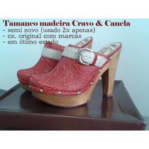 Clog Madeira Cravo & Canela - Nº 38 Semi Novo | Guarulhos
