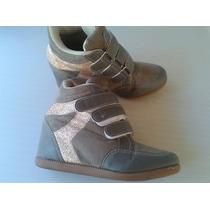 Tênis Sneaker, Tam.34, Pouco Uso.