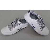Sapatenis Nike De Couro Sintético Super Promocao