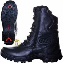Bota Coturno Militar-motoqueiro-motociclista-tático-boots