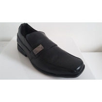 Sapato Masculino De Couro Sola De Borracha #barato#
