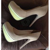 Scarpin Sapato Feminino Via Marte Salto Agulha 13,5cm Tam.38