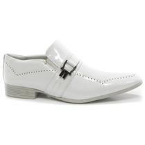 Sapato Masculino Branco Calvest Social | Zariff