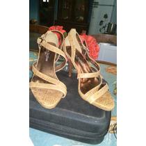Sapato Carmem Steffans N°37 Usado Uma Vez