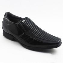 Sapato Social Preto Pegada Aumenta A Altura Em 6cm 582290